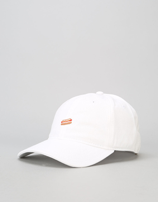 Route One Hot Dog Cap - White