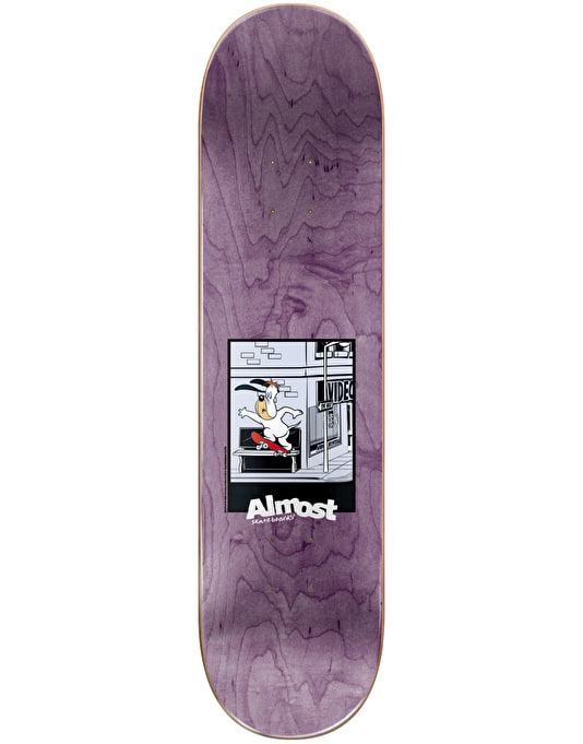 """Almost x Hanna-Barbera Youness Droopy Boombox Skateboard Deck - 8"""""""