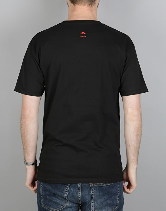 Emerica Rasta Triangle T-Shirt - Black