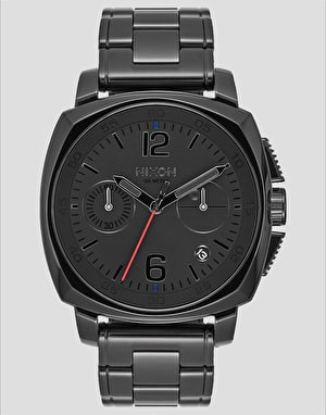 Nixon Charger Chrono Watch - Vader Black