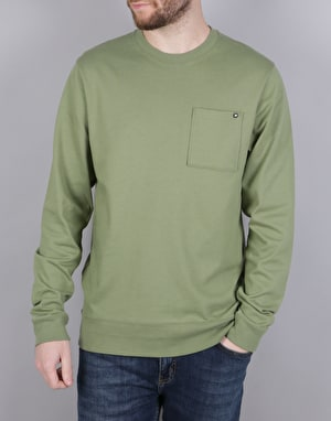 Nike SB L/S Crew Top Sweatshirt - Palm Green