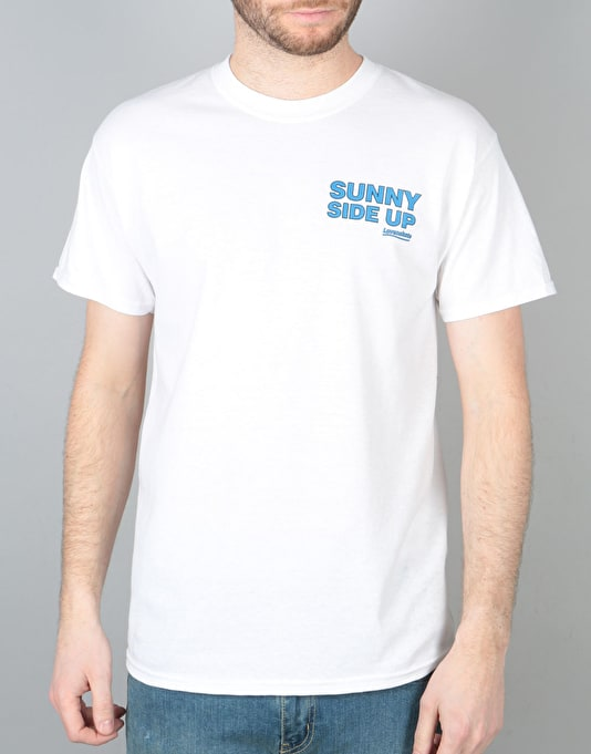 "Lovenskate ""Sunny Side Up"" T-Shirt - White"