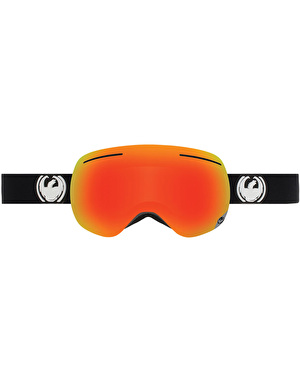Dragon X1 2017 Snowboard Goggles - Inverse/Red Ion