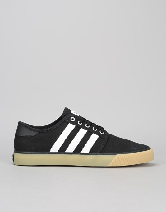 Adidas Seeley Decon Skate Shoes - Black White Gum  d4df097bc