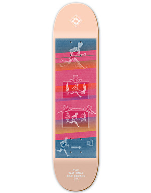The National Skateboard Co. Action Team Deck - 8.25
