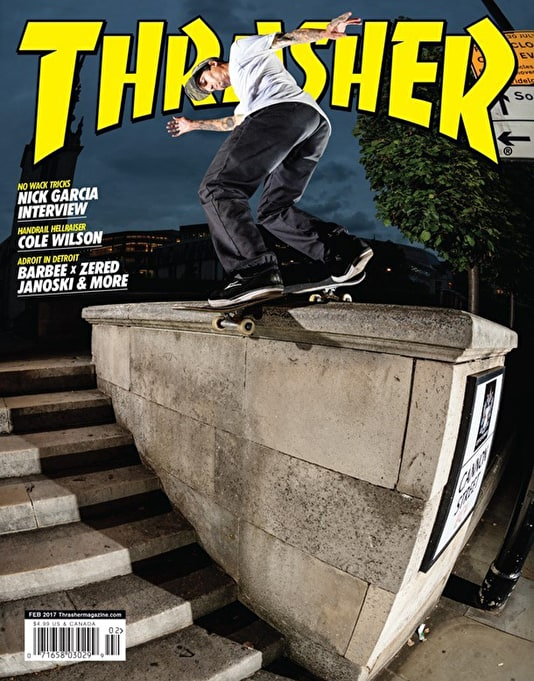 Thrasher Magazine Issue 439 February 2017
