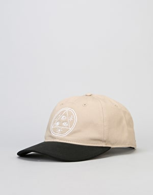Welcome Basic Witch Unstructured Slider Cap - Khaki/Black