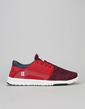 Etnies x Plan B Scout Yarn Bomb Shoes - Navy/Red/White