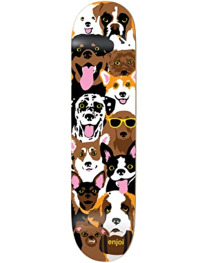 Enjoi Dog Collage Team Deck - 8.375