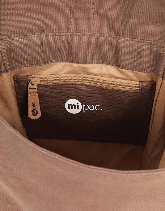 Mi-Pac Canvas Day Pack - Dark Brown