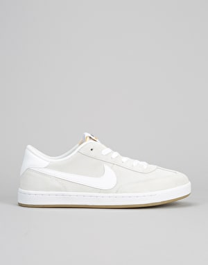 Nike SB FC Classic Low Skate Shoes - Summit White/Summit White-White