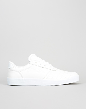 Lakai Salford Skate Shoes - White Leather