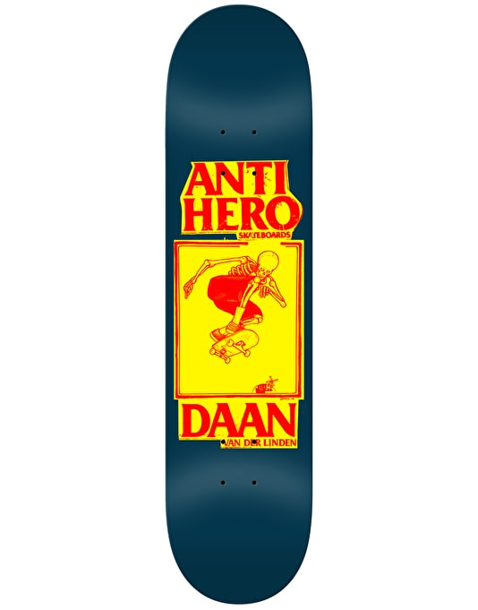 Anti Hero Daan Lance II Pro Deck - 8.12""