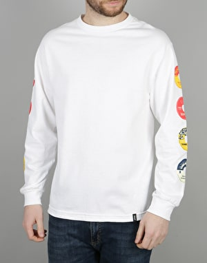 HUF 45 RPM L/S T-Shirt - White
