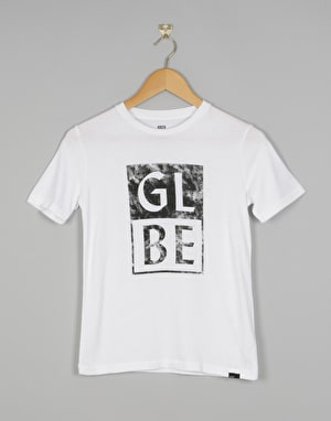 Globe Stack Boys T-Shirt - White