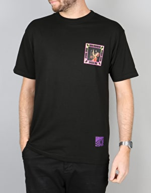 Grizzly x Jimi Hendrix The Grizzly Haze T-Shirt - Black