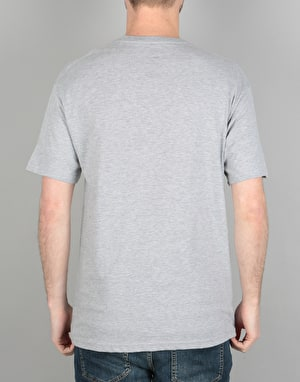 Diamond Supply Co. Pacific Tour T-Shirt - Heather Grey