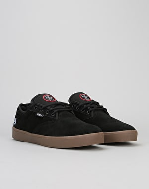 Etnies x Flip Jameson Vulc Skate Shoes - Black/Gum