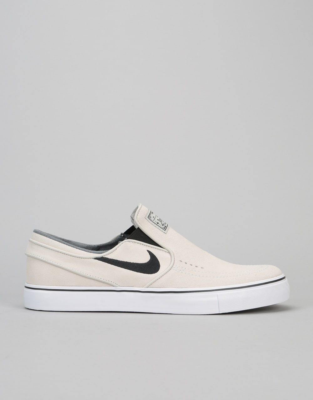 quality design 3fc15 fbfc7 Nike SB Stefan Janoski Slip On Skate Shoes - Light Bone Black-White   Mens  Footwear   Trainers   Skate Shoes   Sneakers   Runners   Route One