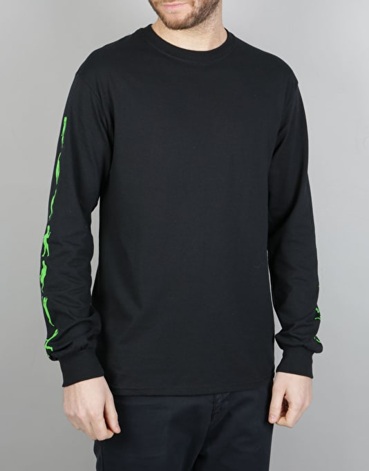 RIPNDIP Dance Alien L/S T-Shirt - Black