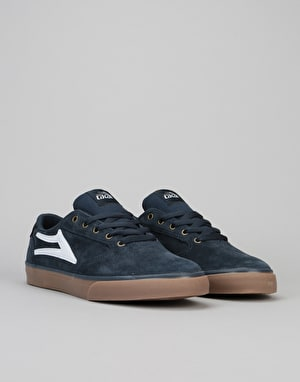 Lakai Pico Skate Shoes - Navy/Gum