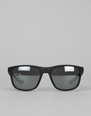 Nike SB Unrest Sunglasses - Matte Dark Obsidian/Grey
