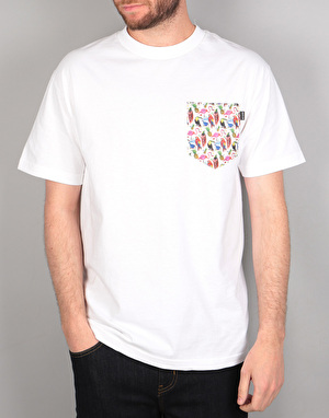 The Quiet Life Birds Of Paradise T-Shirt - White