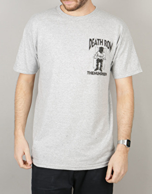 The Hundreds x Death Row Records Crest T-Shirt - Athletic Heather