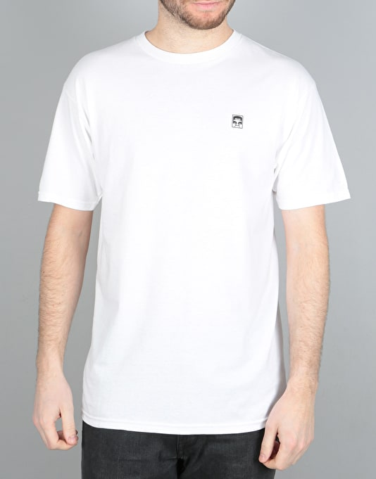 Obey Half Face Mil Spec T-Shirt - White