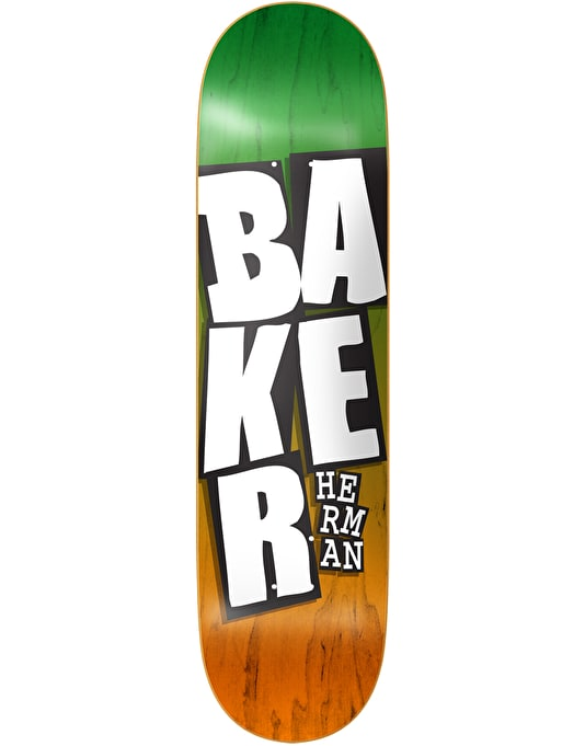 Baker Herman Stacked Name Pro Deck - 8""