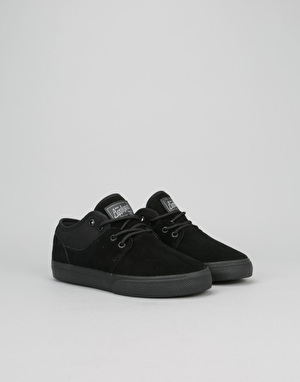 Globe Mahalo Boys Skate Shoes - Black/Black