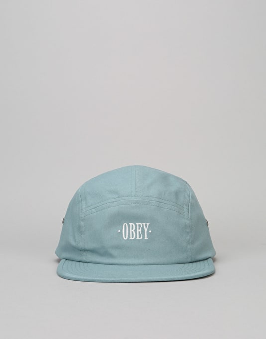 Obey Sonora 5 Panel Cap - Slate
