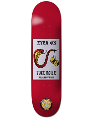 Element x Marcus Dixon Julian Dice Featherlight Pro Deck - 8.2