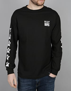 HUF x Sammy Winter L/S T-Shirt - Black