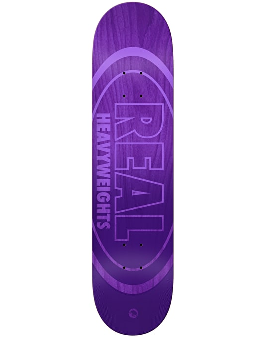 Real Heavyweights Skateboard Deck - 8.38""