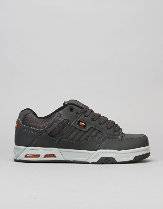 DVS Enduro Heir Skate Shoes - Grey Orange Gunny