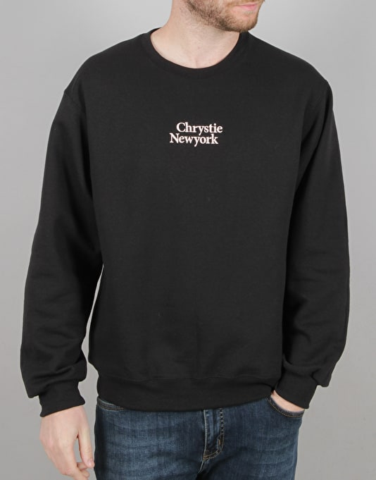 Chrystie Minion Logo Crewneck - Black