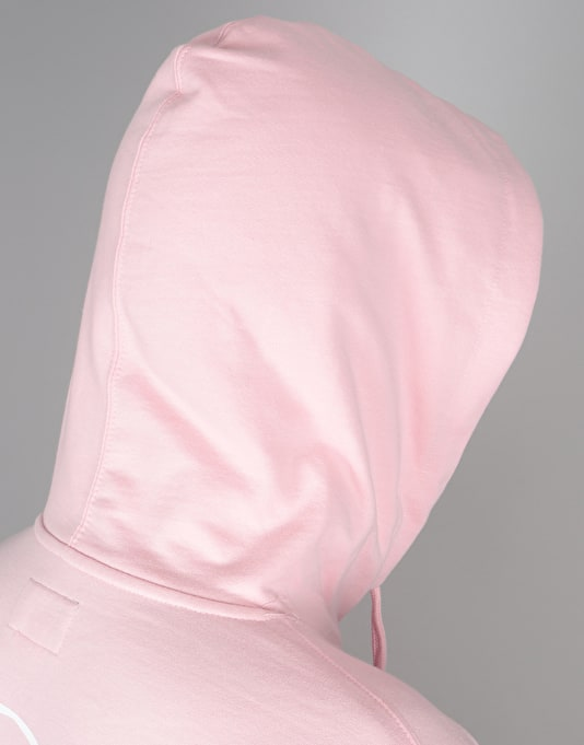 Welcome Talisman Mid-weight Pullover Hoodie - Pink/White