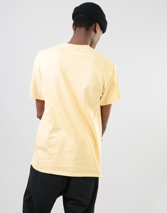 Route One Embroidered Logo T-Shirt - Vegas Gold