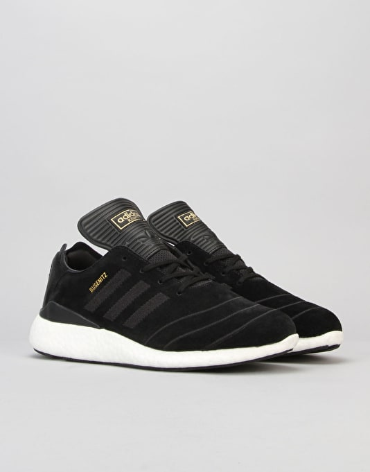 Adidas Busenitz Pure Boost Skate Shoes - Black/Black/Black
