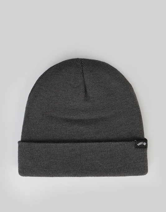 Route One NY Cuff Beanie - Slate Grey