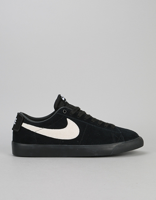 nike sb blazer black low top