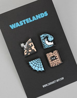 Carhartt Wasteland Pin Set - Multi