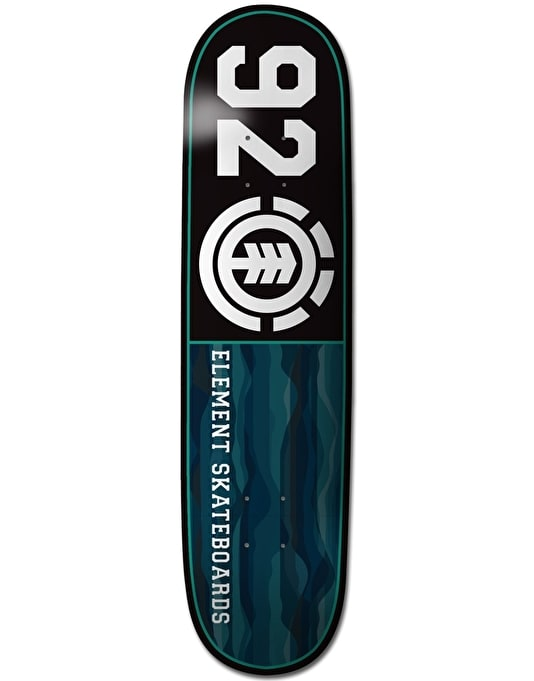 Element Land Lines 92 Featherlight Skateboard Deck - 8.25""