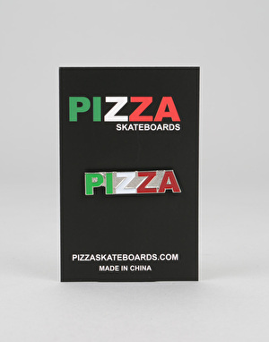 Pizza Tri Colour Pin - Multi