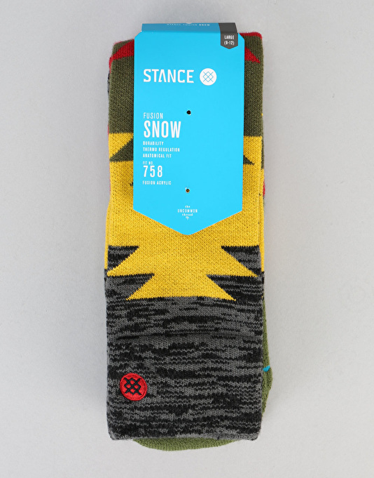 Stance Safety Meeting 2017 Snowboard Socks - Black