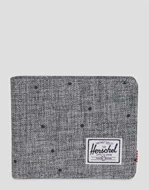 Herschel Supply Co. Roy Wallet - Scattered Raven Crosshatch