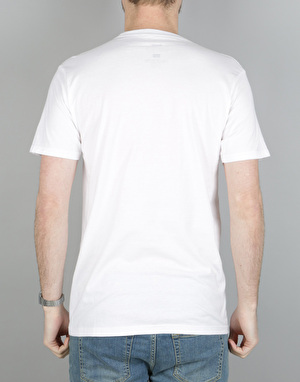 Altamont Natural Born Romance Pocket T-Shirt - White