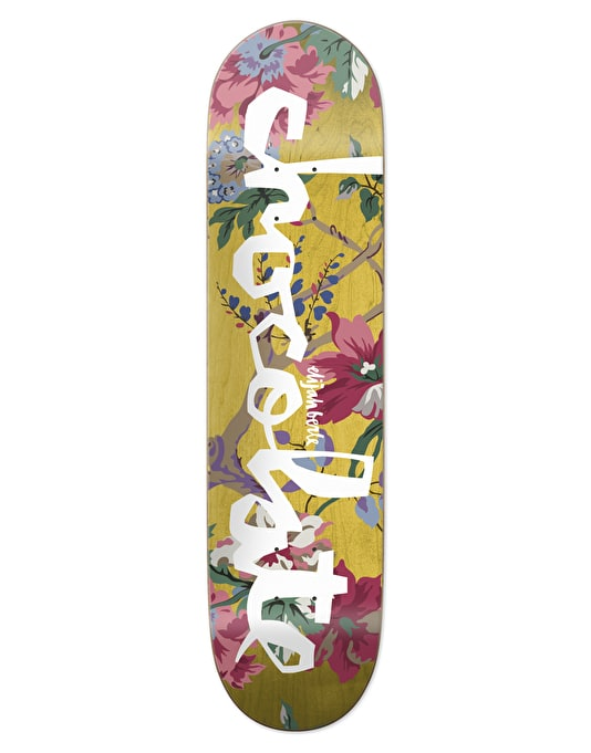 """Chocolate Berle Floral Chunk Pro Deck - 8.375"""""""