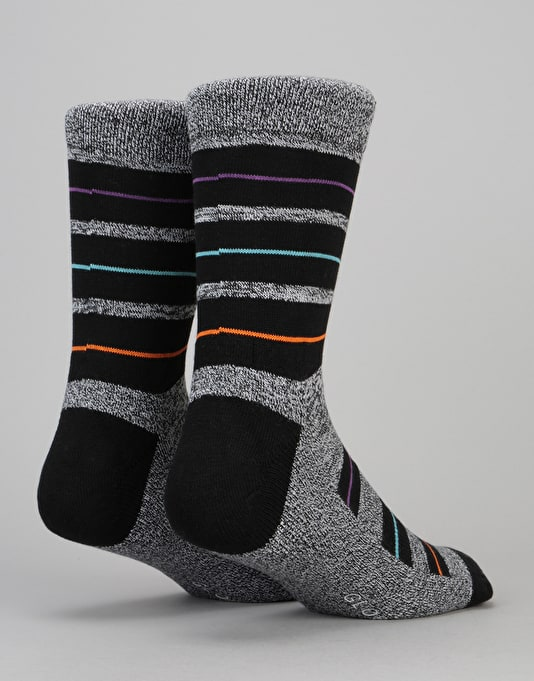 Globe Premium Socks - Thin/Fat Stripe